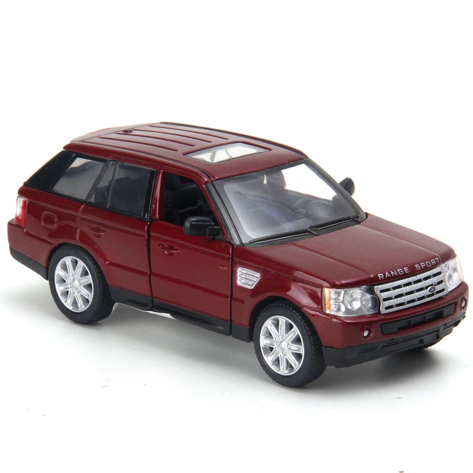 Miniatura em Metal - 1:32 - Range Rover Sport - Vinho