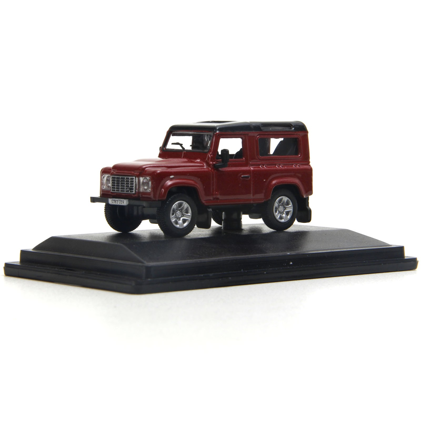 Miniatura em Metal - 1:76 - Land Rover Defender 90 - Firenze Red