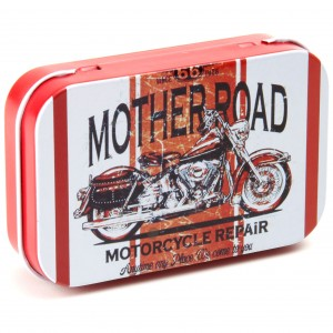 Caixa de Metal - Mother Road Motorcycle Repair