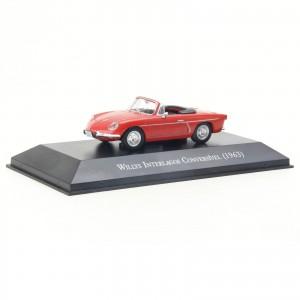 Miniatura em Metal - 1:43 - Willys Interlagos Conversível - 1963