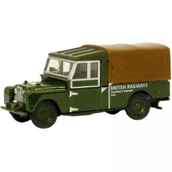 Miniatura - 1:76 - Land Rover 109 Canvas British Railways - Oxford