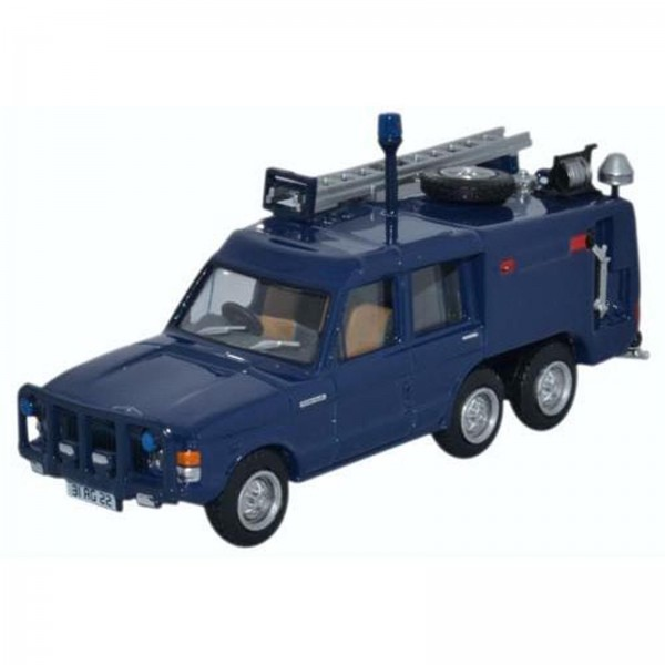 Miniatura - 1:76 - Land Rover TACR2 Queens Flight - Blue - Oxford