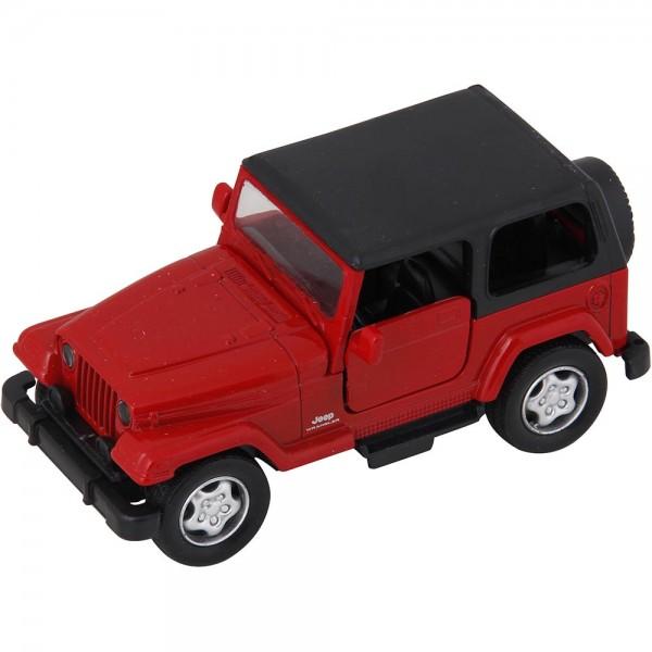 Miniatura em Metal - 1:32 - Jeep Wrangler