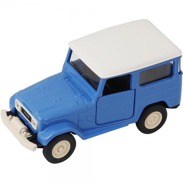 Miniatura em Metal - 1:43 - Toyota Bandeirante 1979 - Série História dos Carros Brasileiros II