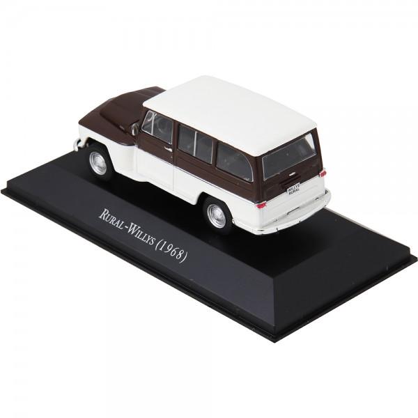 Miniatura em Metal - 1:43 - Rural Willys 1968 - Série Carros Inesquecíveis do Brasil