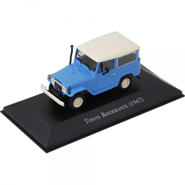 Miniatura em Metal - 1:43 - Toyota Bandeirante 1967 - Série Carros Inesquecíveis do Brasil