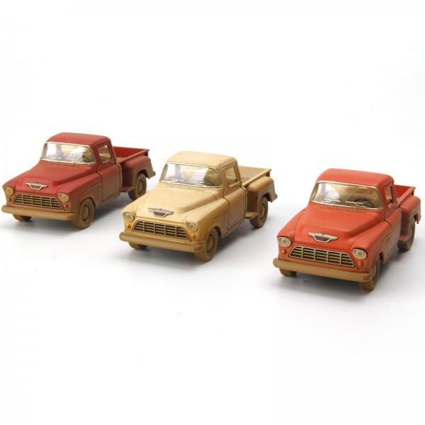 Miniatura em Metal - 1:32 - Chevrolet 3100 1955 Rusty