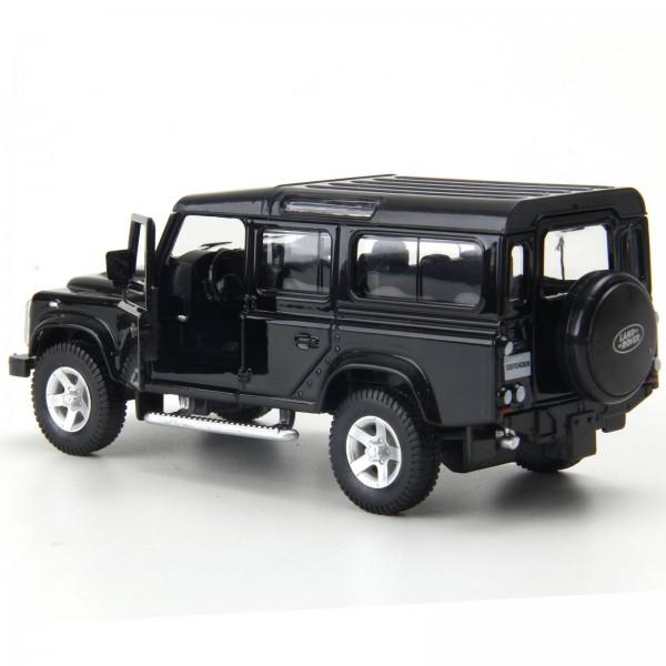 Miniatura em Metal - 1:32 - Land Rover Defender 110 - Preto