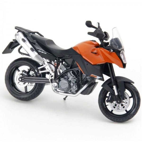 Miniatura em Metal - 1:12 - Moto KTM 990SM - Laranja