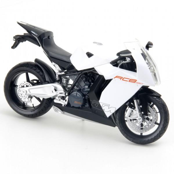 Miniatura em Metal - 1:12 - Moto KTM RC8