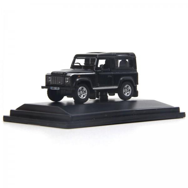 Miniatura em Metal - 1:76 - Land Rover Defender 90 - Santorini Black