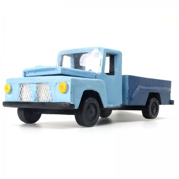 Miniatura de Madeira - Ford F - 75 - Azul