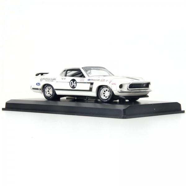 Miniatura em Metal - 1:38 - Ford Mustang 302 Racer - 1969