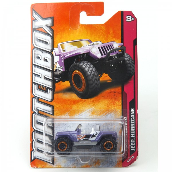 Matchbox - Jeep Hurricane - W4789