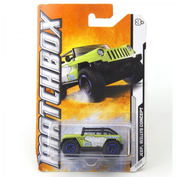Matchbox - Jeep Willys Concept - W4788