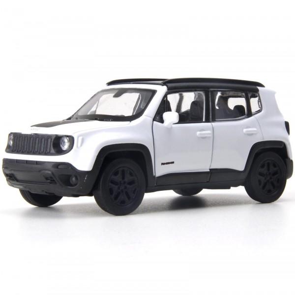 Miniatura em Metal - 1:32 - Jeep Renegade Trailhawk - Branco