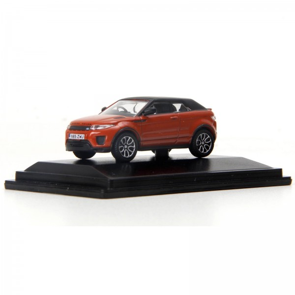 Miniatura - 1:76 - Range Rover Evoque Convertible - Phoenix Orange - Oxford