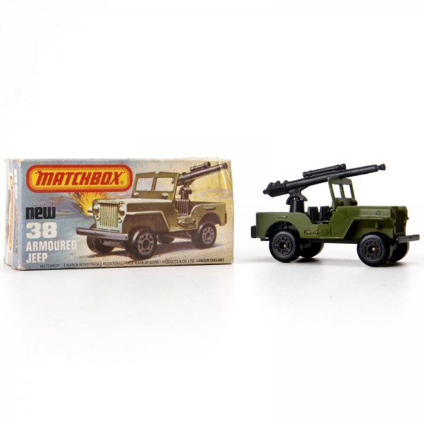 Matchbox - Jeep Armoured - Superfast - MB38