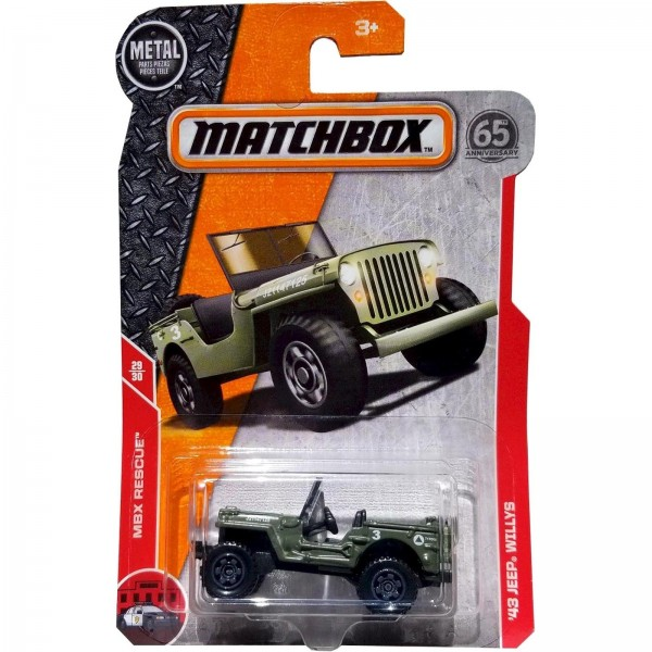 Matchbox - '43 Jeep Willys - FHH88