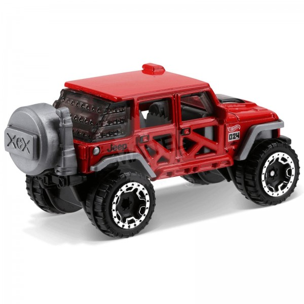Hot Wheels - Jeep Wrangler 2017 - FJV47