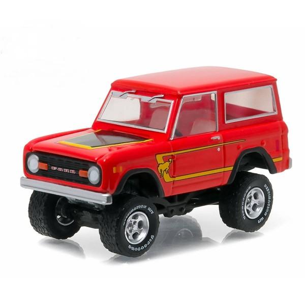 Miniatura em Metal - 1:64 - Ford Bronco 1977
