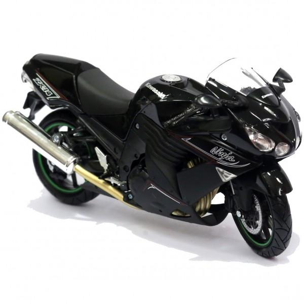 Miniatura em Metal - 1:12 - Moto Kawasaki ZX-14 2011
